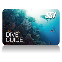 SSI Dive Guide Certification Card