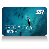 SSI Speciality Diver Recognition Card