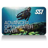 SSI Advanced Open Water Diver RecognitionCard