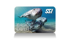 SSI Basic Diver Certification card
