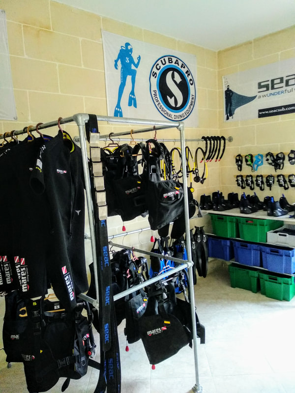 image of the Rental Equipment room