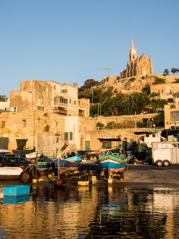 Image of Mgarr Harbor Gozo