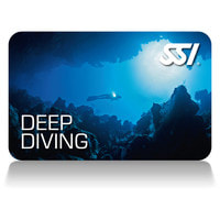 SSI Deep Diving Certification Card