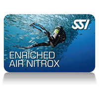 SSI Enriched Air Nitrox Certification Card