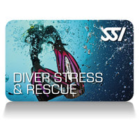 SSI Diver Stress and Rescue Certification Card