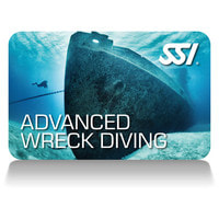SSI Advanced Wreck Diving Certification Card