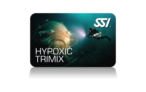 SSI Hypoxic Trimix Card