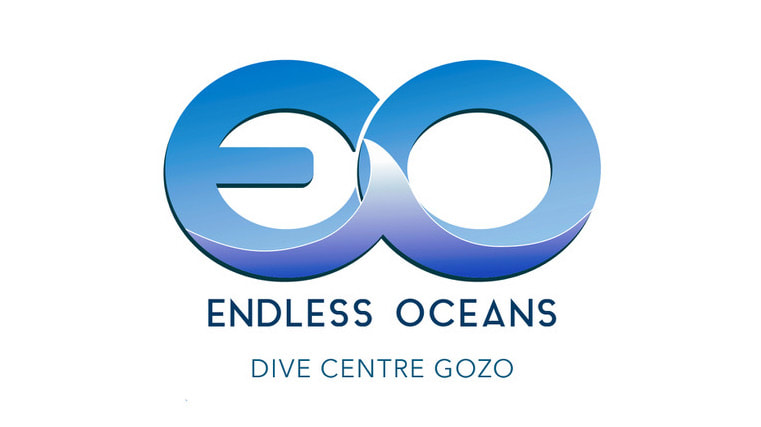 Endless Oceans Dive Centre Gozo Billinghurst Cave Dive Site Logo